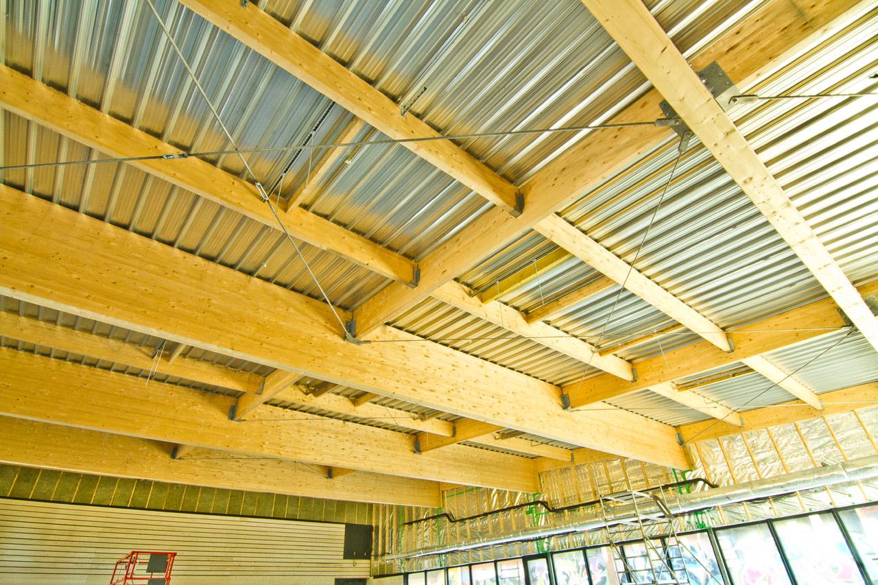 Salle de sport de combats - Trégunc (29) - Charpente, Menuiserie, Ossature bois en Bretagne