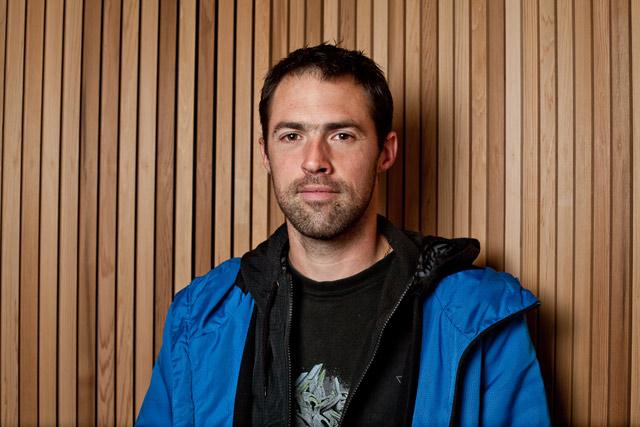 Sébastien Le Delliou (charpentier atelier ossature bois)
