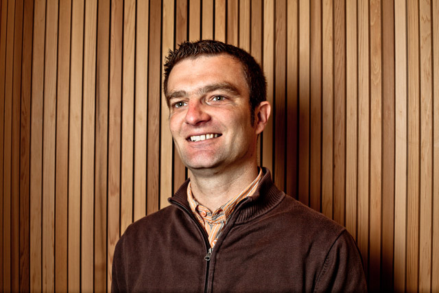 Fabien Hosteins (co-gérant PDG et métreur-diviseur charpente / ossature bois)