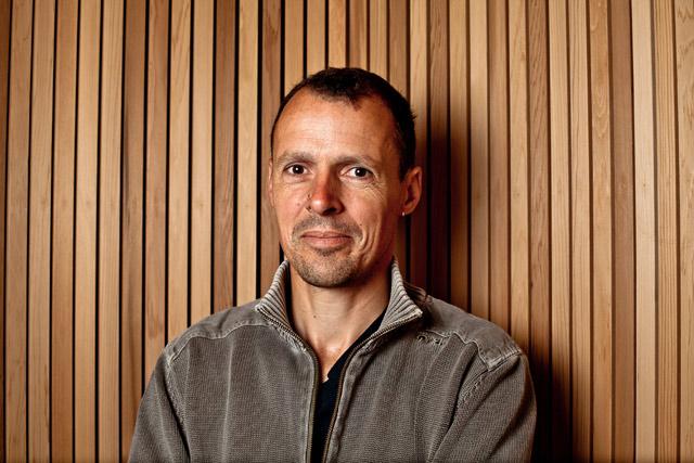 David Babarit (co-gérant PDG et charpentier chantiers ossature bois)